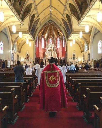 Fr. McGrath St. Mary's Latin Mass Community Kitchener
