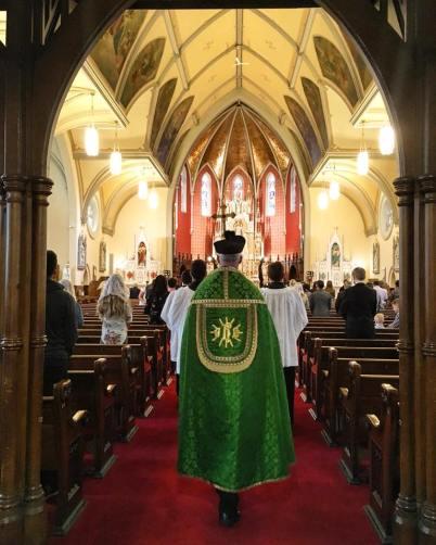 Fr. M St Mary's Kitchener July 2018